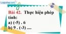 Bài 42 trang 96 Vở bài tập toán 6 tập 1