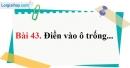 Bài 43 trang 97 Vở bài tập toán 6 tập 1