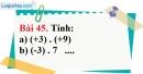 Bài 45 trang 99 Vở bài tập toán 6 tập 1