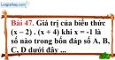 Bài 47 trang 99 Vở bài tập toán 6 tập 1