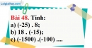 Bài 48 trang 99 Vở bài tập toán 6 tập 1