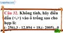 Phần câu hỏi bài 12 trang 101 Vở bài tập toán 6 tập 1