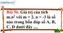 Bài 56 trang 103 Vở bài tập toán 6 tập 1