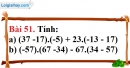 Bài 51 trang 101 Vở bài tập toán 6 tập 1