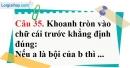 Phần câu hỏi bài 13 trang 104 Vở bài tập toán 6 tập 1