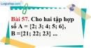 Bài 57 trang 104 Vở bài tập toán 6 tập 1