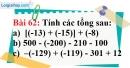 Bài 62 trang 107 Vở bài tập toán 6 tập 1