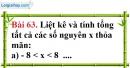 Bài 63 trang 107 Vở bài tập toán 6 tập 1