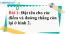 Bài 1 trang 117 Vở bài tập toán 6 tập 1