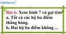 Bài 6 trang 121 Vở bài tập toán 6 tập 1