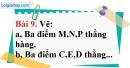 Bài 9 trang 122 Vở bài tập toán 6 tập 1