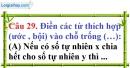 Phần câu hỏi bài 13 trang 43 Vở bài tập toán 6 tập 1