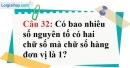 Phần câu hỏi bài 14 trang 45 Vở bài tập toán 6 tập 1
