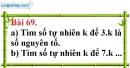 Bài 69 trang 47 Vở bài tập toán 6 tập 1
