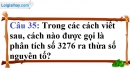 Phần câu hỏi bài 15 trang 48 Vở bài tập toán 6 tập 1