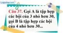 Phần câu hỏi bài 16 trang 52 Vở bài tập toán 6 tập 1