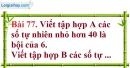 Bài 77 trang 53 Vở bài tập toán 6 tập 1