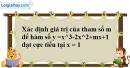 Bài 1.22 trang 16 SBT giải tích 12