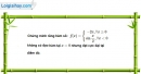 Bài 1.24 trang 16 SBT giải tích 12