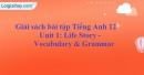 Vocabulary & Grammar - trang 6 Unit 1 SBT Tiếng anh 12 mới