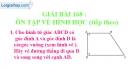 Bài 168 : Ôn tập về hình học (tiếp theo)