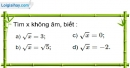 Bài 4 trang 5 SBT toán 9 tập 1