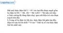 Bài 4.14 trang 11 SBT Vật lí 9