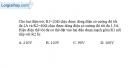 Bài 4.6 trang 10 SBT Vật lí 9