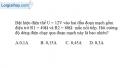 Bài 4.8 trang 10 SBT Vật lí 9