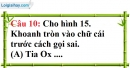 Phần câu hỏi bài 5 trang 127, 128 Vở bài tập toán 6 tập 1