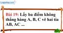 Bài 19 trang 129 Vở bài tập toán 6 tập 1