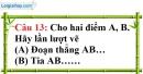 Phần câu hỏi bài 6 trang 130, 131 Vở bài tập toán 6 tập 1