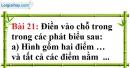 Bài 21 trang 131 Vở bài tập toán 6 tập 1