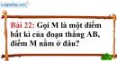 Bài 22 trang 131 Vở bài tập toán 6 tập 1