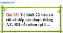 Bài 25 trang 132 Vở bài tập toán 6 tập 1