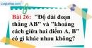 Bài 26 trang 133 Vở bài tập toán 6 tập 1