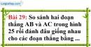 Bài 29 trang 134 Vở bài tập toán 6 tập 1