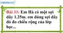 Bài 33 trang 136 Vở bài tập toán 6 tập 1