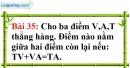 Bài 35 trang 138 Vở bài tập toán 6 tập 1