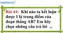Bài 44 trang 145 Vở bài tập toán 6 tập 1