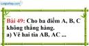 Bài 49 trang 147 Vở bài tập toán 6 tập 1