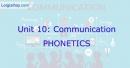 Phonetics - Unit 10 VBT Tiếng Anh 8 mới