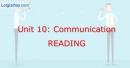 Reading -  Unit 10 VBT Tiếng Anh 8 mới