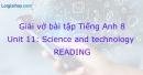 Reading - Trang 43 Unit 11 VBT Tiếng Anh 8 mới