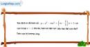 Bài 1.23 trang 16 SBT giải tích 12