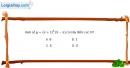 Bài 1.26 trang 16 SBT giải tích 12