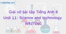 Writing - Trang 45 Unit 11 VBT Tiếng Anh 8 mới
