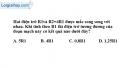 Bài 5.7 trang 14 SBT Vật lí 9