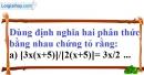 Bài 1 trang 46 Vở bài tập toán 8 tập 1