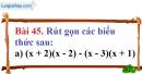 Bài 45 trang 38 Vở bài tập toán 8 tập 1